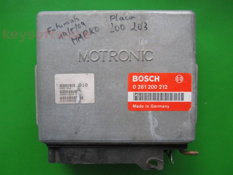 Defecte Ecu Citroen ZX 2.0 0261200212 MP3.1