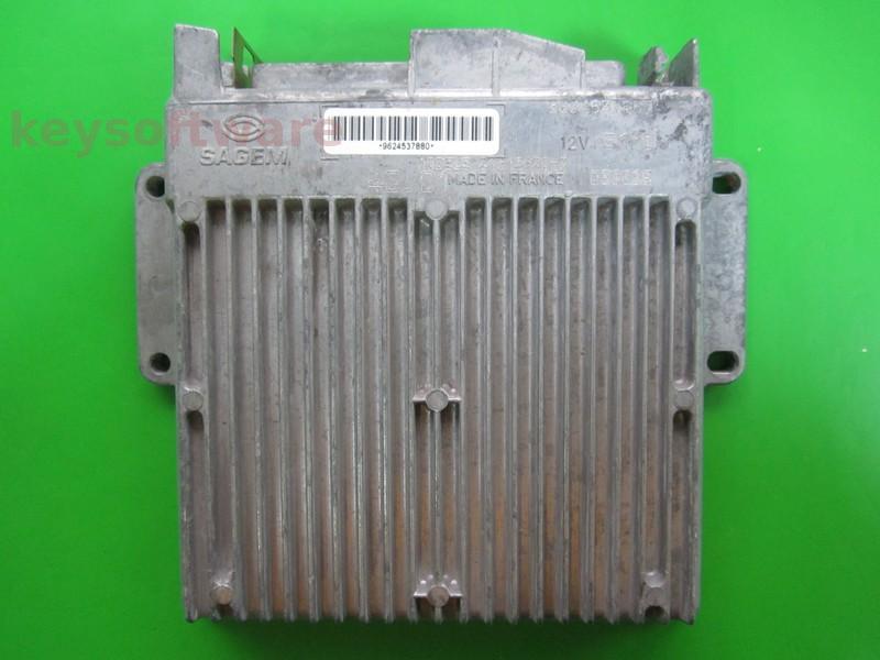 ECU Citroen ZX 1.6 9624537880 35p