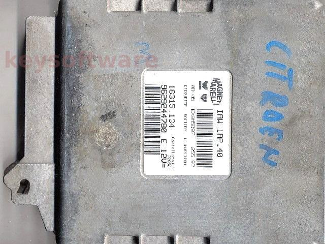 ECU Citroen Berlingo 1.4 9629244780 IAW 1AP.40