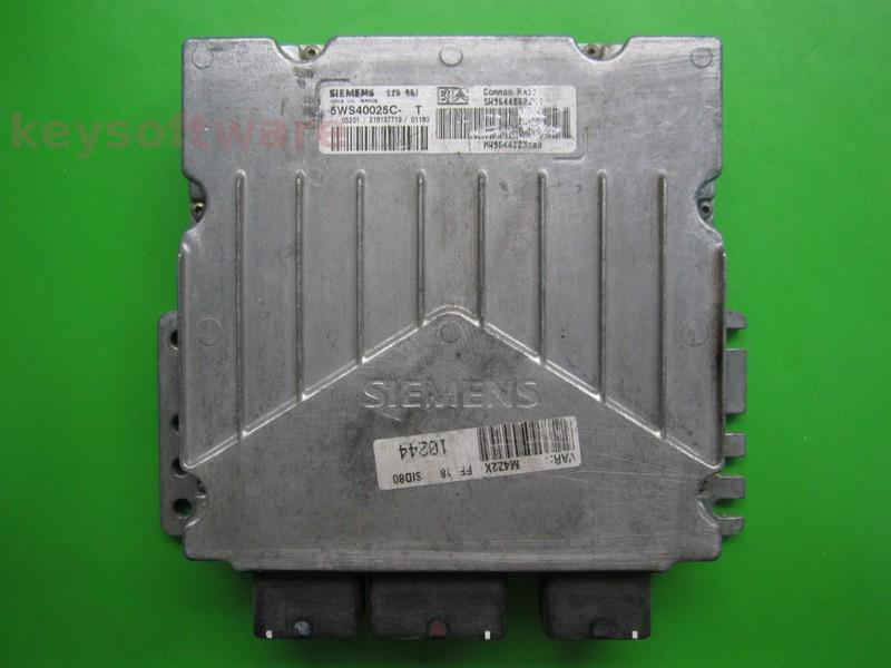 ECU Citroen Berlingo 2.0HDI 9644860380 5WS40025C-T SID801