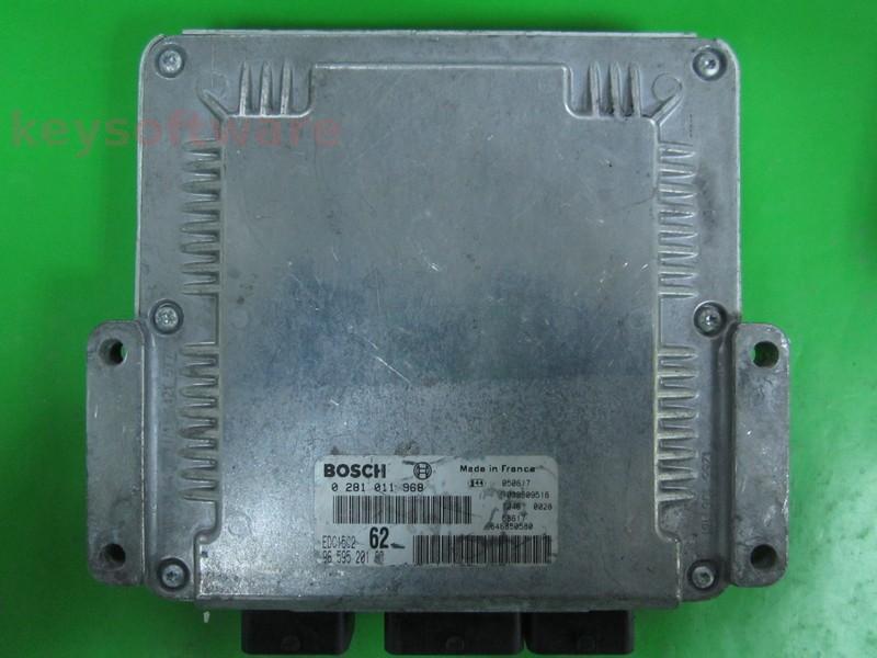 ECU Citroen C8 2.0HDI 9659520180 0281011968 EDC15C2