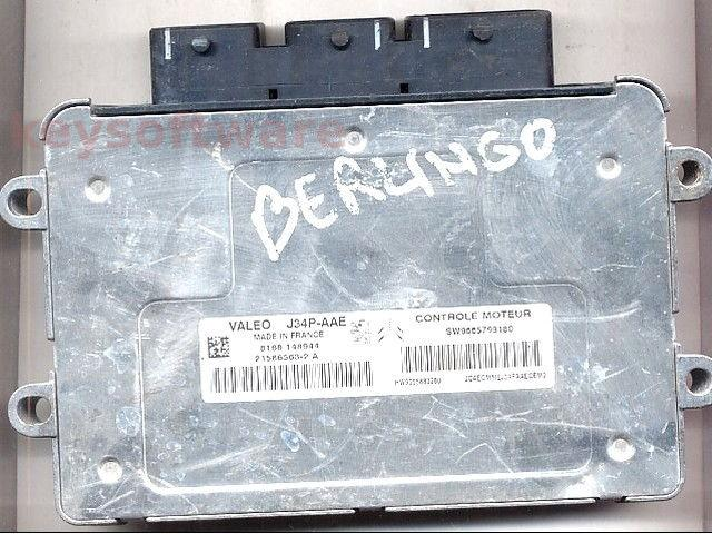 ECU Citroen Berlingo 1.4 9665799180 21586563 J34P-AAE