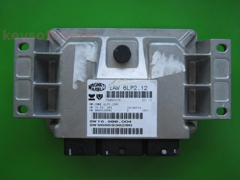 ECU Citroen C4 1.4 9665936280 IAW 6LP2.12