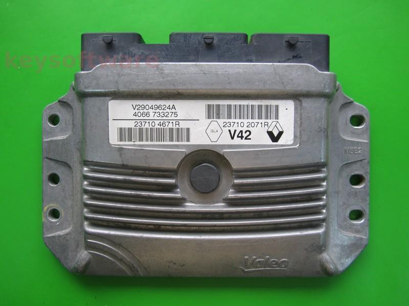 ECU Dacia Dokker 1.6 237104671R 237102071R V42