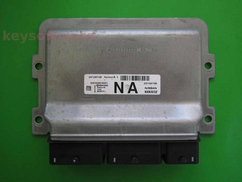 ECU Dacia Sandero 1.2 237109775R 237109776R EMS3140