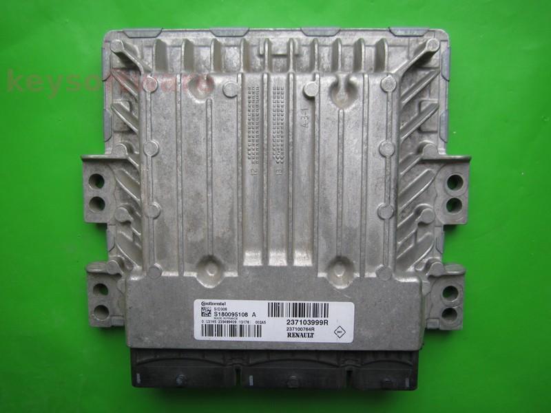 ECU Dacia Duster 1.5DCI 237103999R S180095108A SID306 }