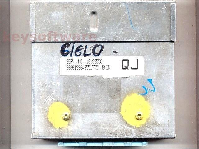 ECU Daewoo Cielo 1.5 16199550 BNZK QJ bleu