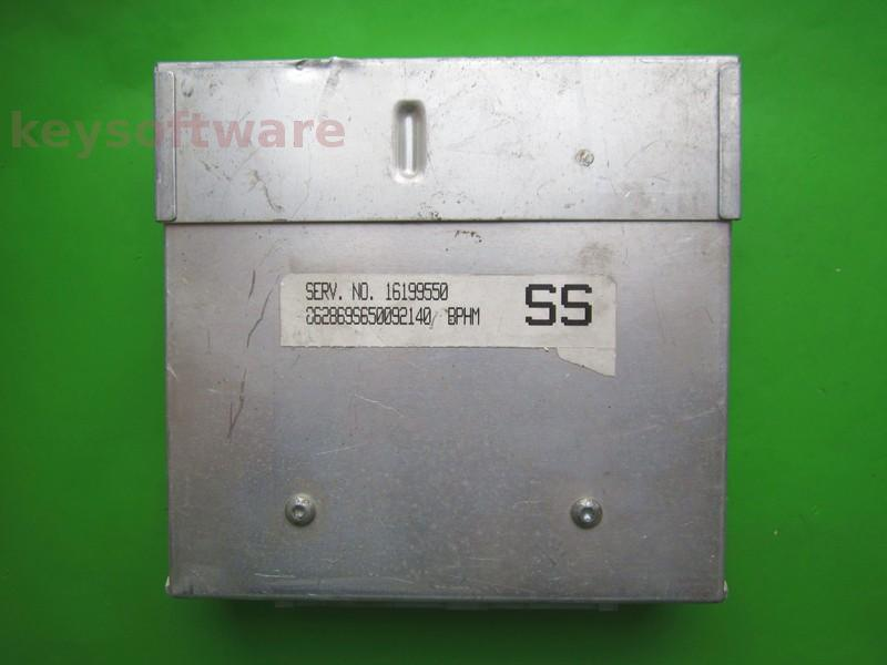 ECU Daewoo Cielo 1.5 16199550 BPHM SS bleu