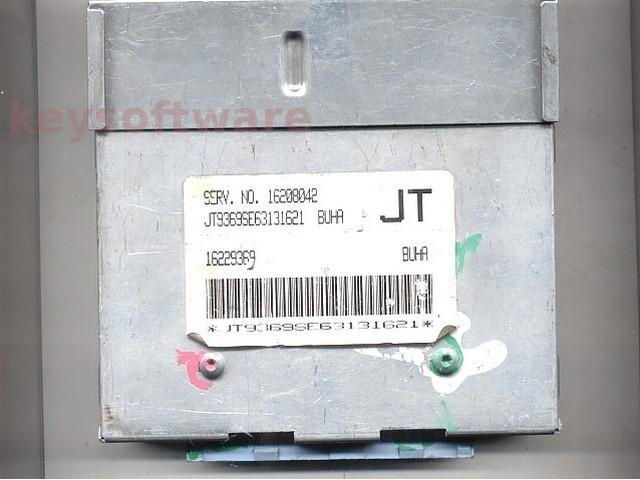 ECU Daewoo Cielo 1.5 16208042 BUHA JT bleu