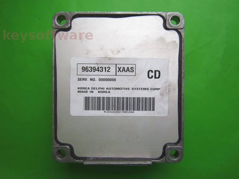 ECU Daewoo Kalos 1.4 96394312 XAAS CD