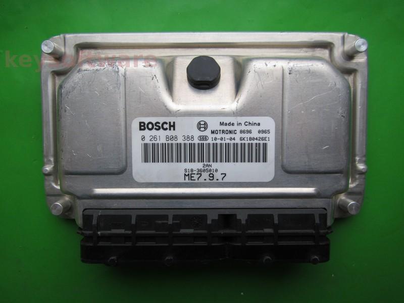 ECU Daihatsu Sirion 1.3 0261B08388 ME7.9.7