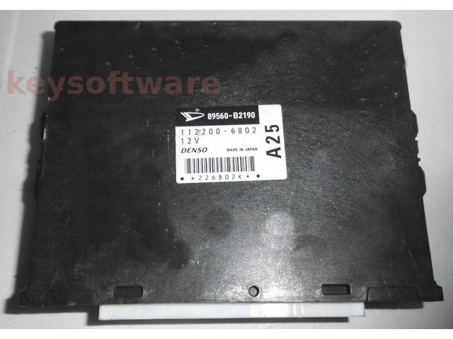 ECU Daihatsu Cuore 1.0 89560-B2190 11200-6802 {