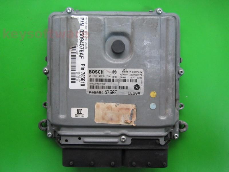 ECU Dodge Nitro 2.8CRD 0281013354 EDC16CP31 {