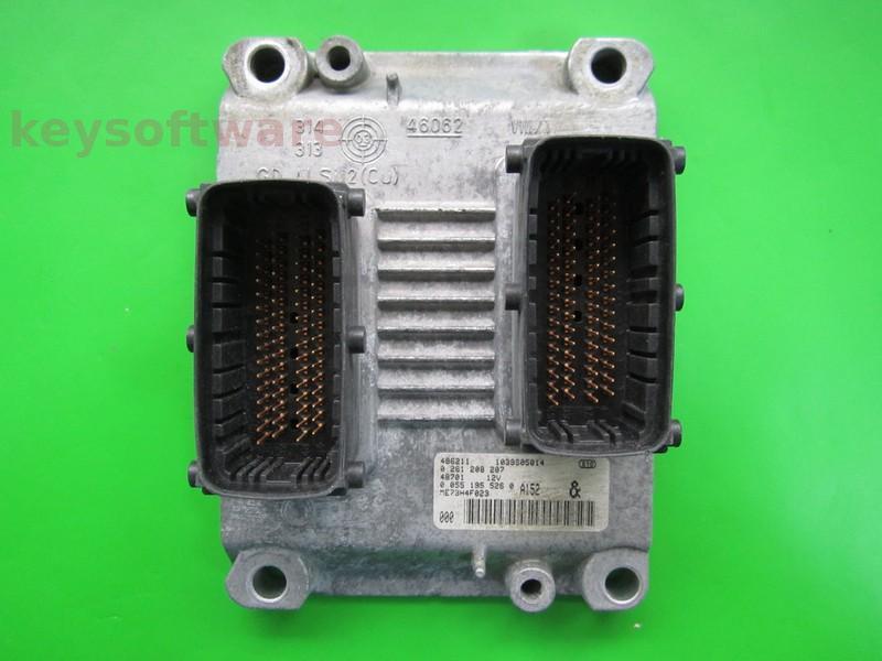 ECU Fiat Idea 1.4 0261208207 ME7.3H4