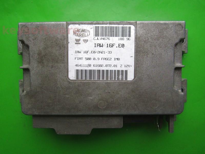 ECU Fiat 500 0.9 46411120 IAW 16F.E0