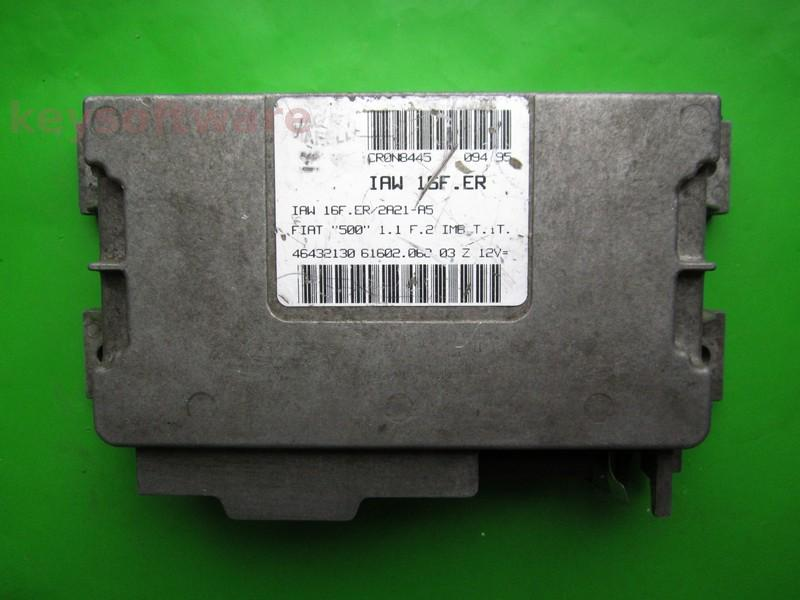 ECU Fiat 500 1.1 46432130 IAW 16F.ER