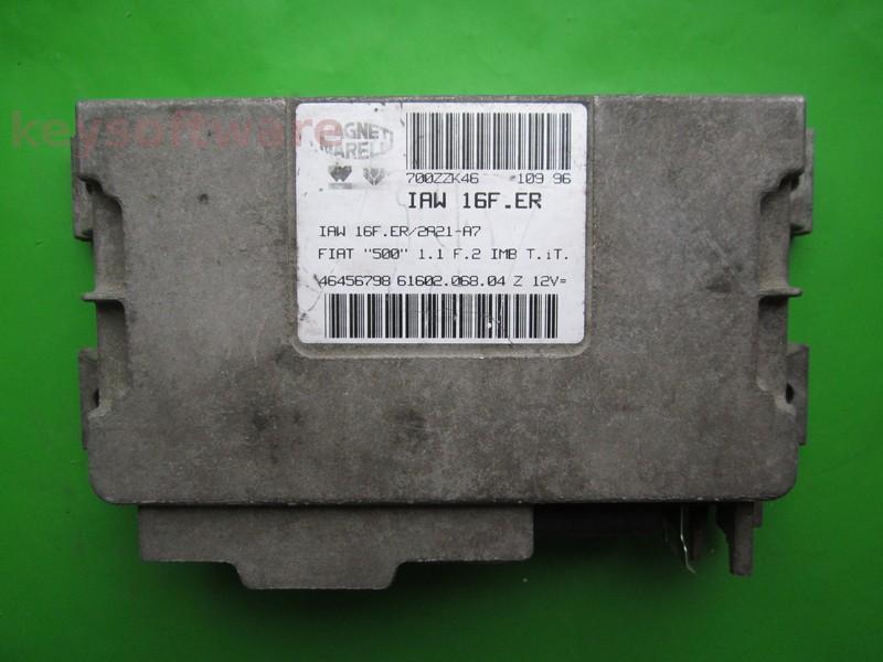 ECU Fiat 500 1.1 46456798 IAW 16F.ER