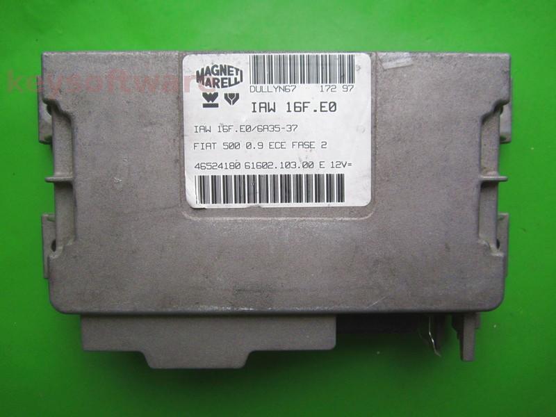 ECU Fiat 500 0.9 46524180 IAW 16F.E0