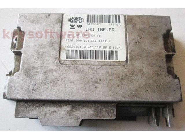 ECU Fiat 500 1.1 46524181 IAW 16F.ER {