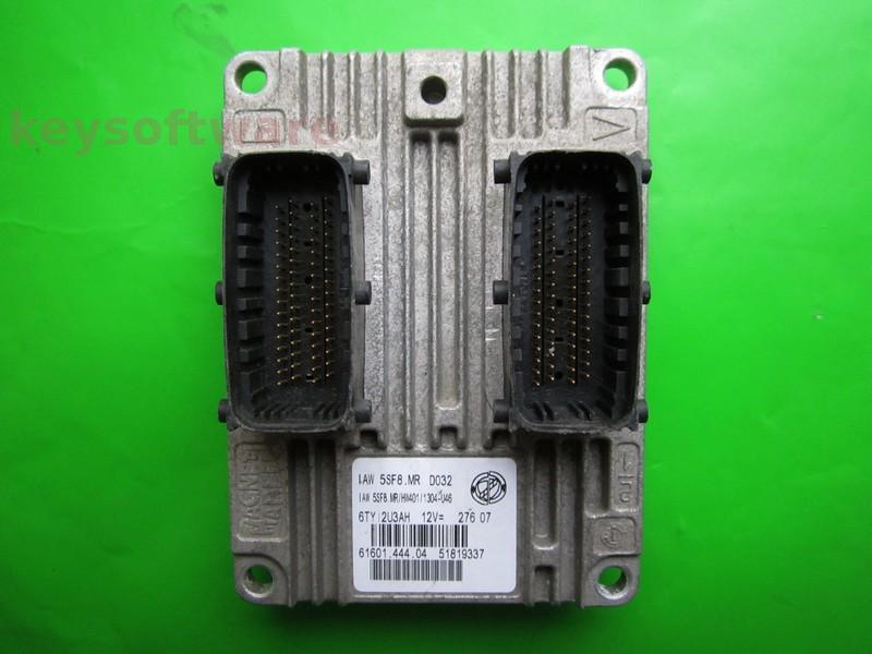 ECU Fiat 500 1.2 51819337 IAW 5SF8.MR {