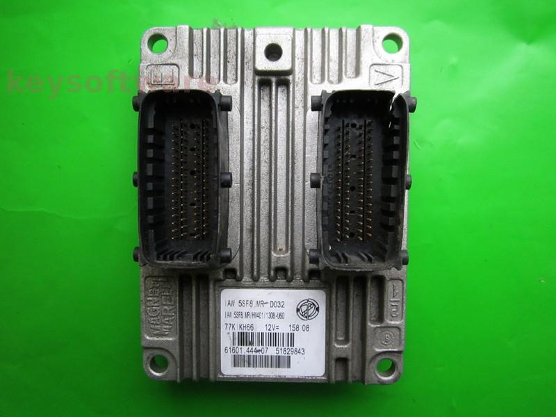 ECU Fiat 500 1.2 51829843 IAW 5SF8.MR }