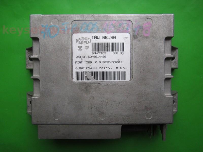 ECU Fiat 500 0.9 7780555 IAW 6F.S0