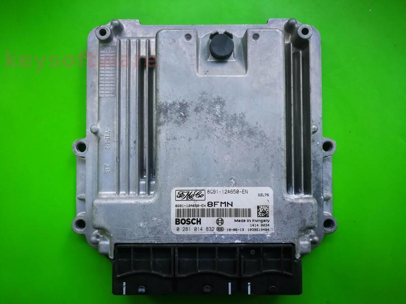 ECU Ford Mondeo 2.0TDCI 8G91-12A650-EN 0281014832 EDC16CP39