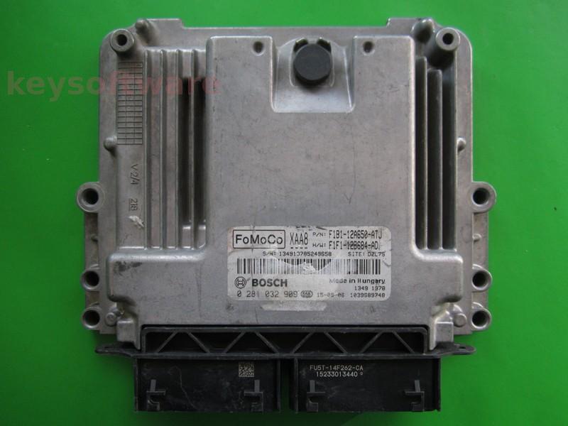 ECU Ford Fiesta 1.5TDCI F1B1-12A50-ATJ 0281032909 EDC17C70