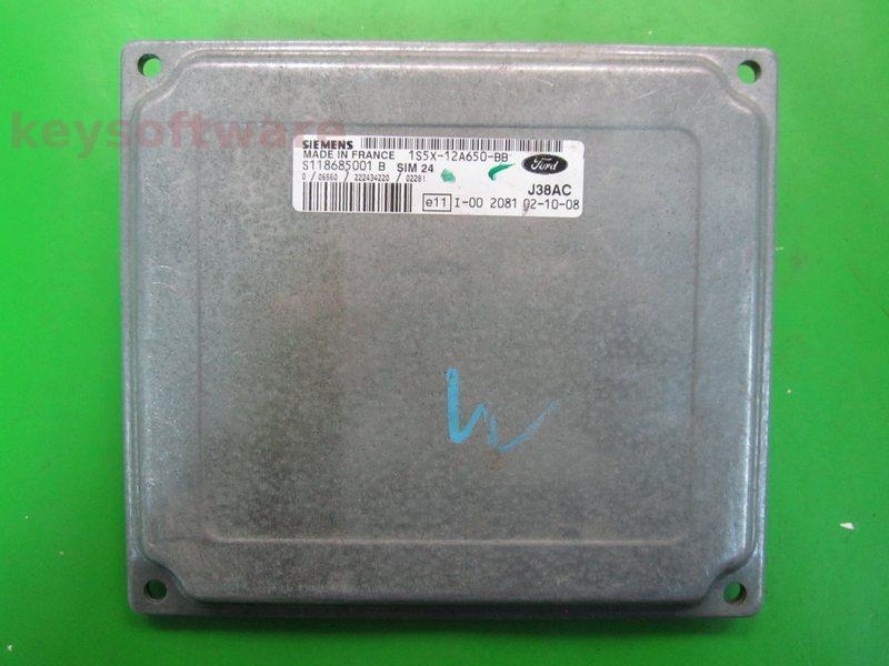 ECU Ford Ka 1.3 1S5X-12A650-BB SIM24