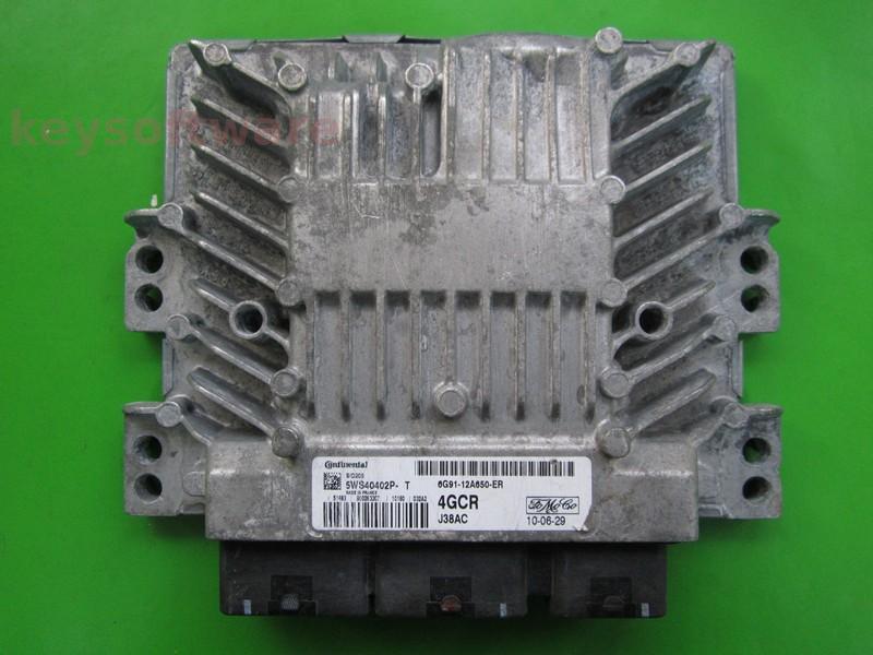 Defecte Ecu Ford Galaxy 2.0TDCI 6G91-12A650-ER SID206