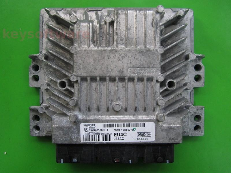 ECU Ford Mondeo 2.0TDCI 7G91-12A650-SC SID206