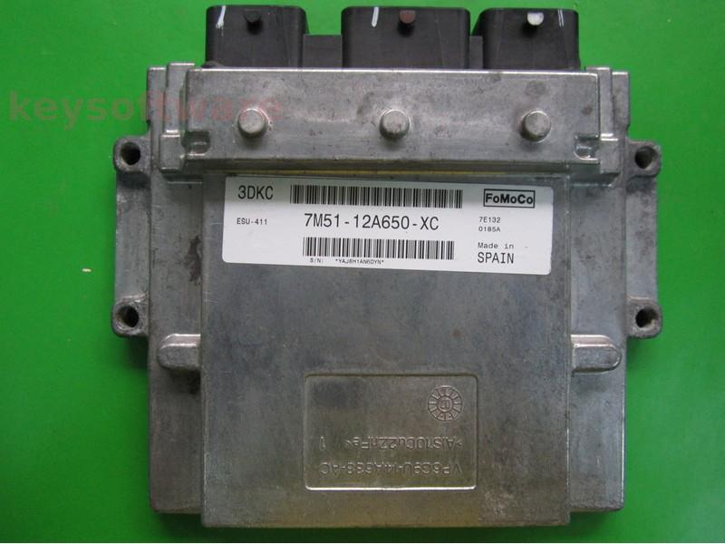 ECU Ford Focus 2.0 7M51-12A650-XC ESU-411