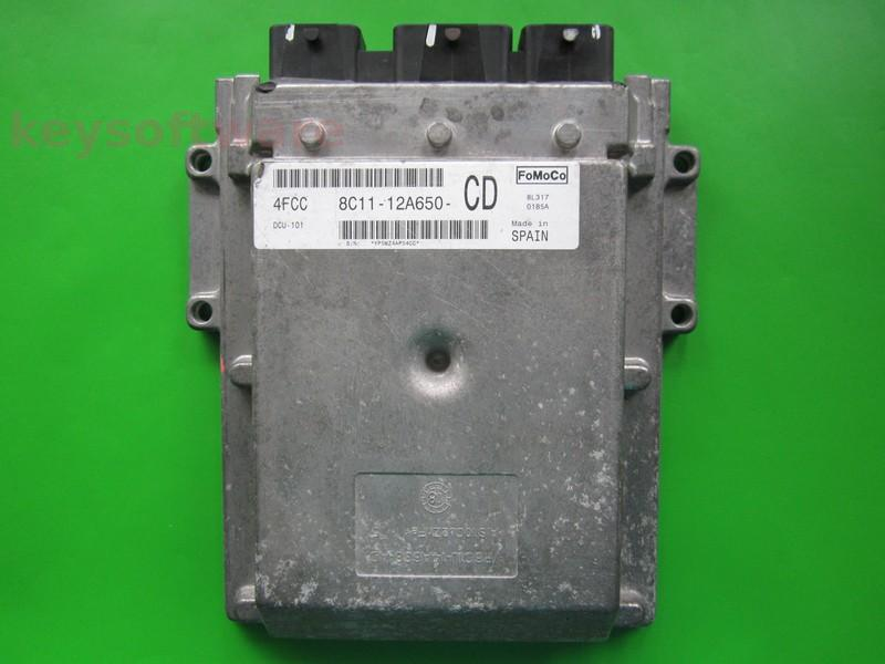 ECU Ford Transit 2.4TDCI 8C11-12A650-CD DCU-101
