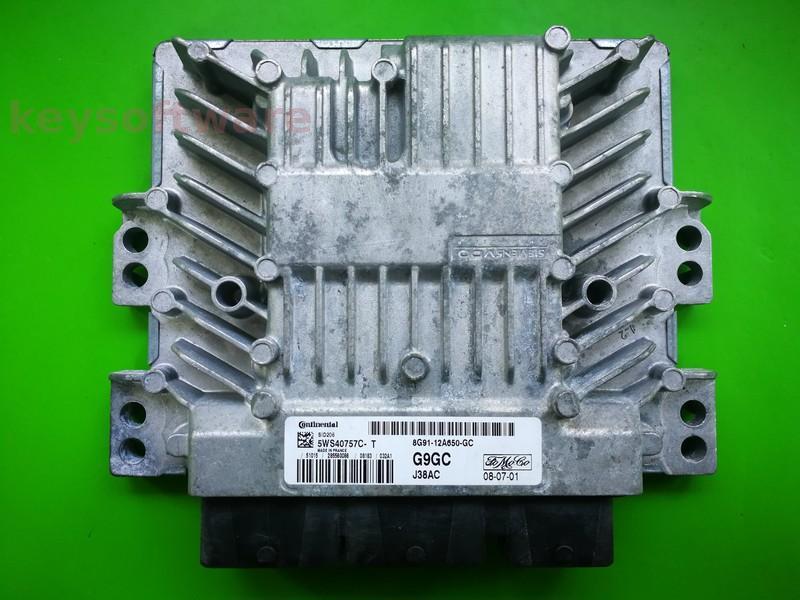 ECU Ford Mondeo 2.0TDCI 8G91-12A650-GC SID206