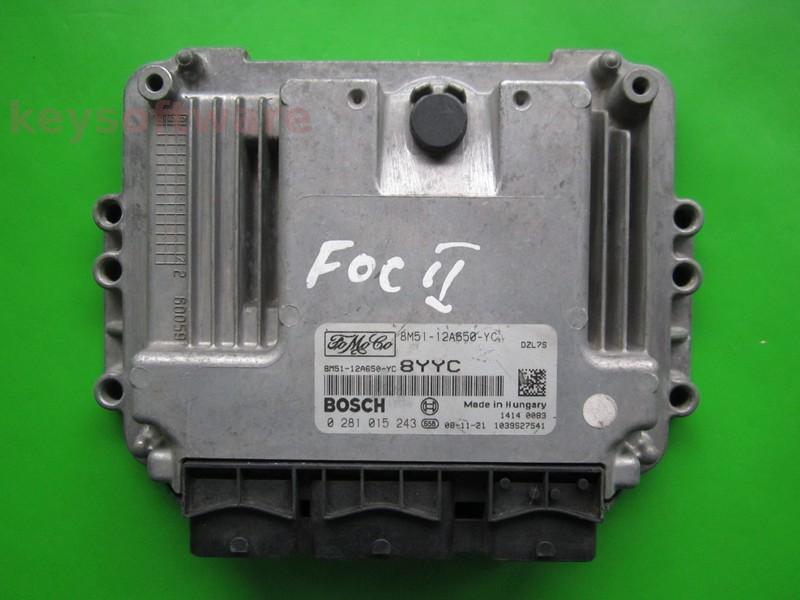 ECU Ford Mondeo 1.6TDCI 8M51-12A650-YC EDC16C34