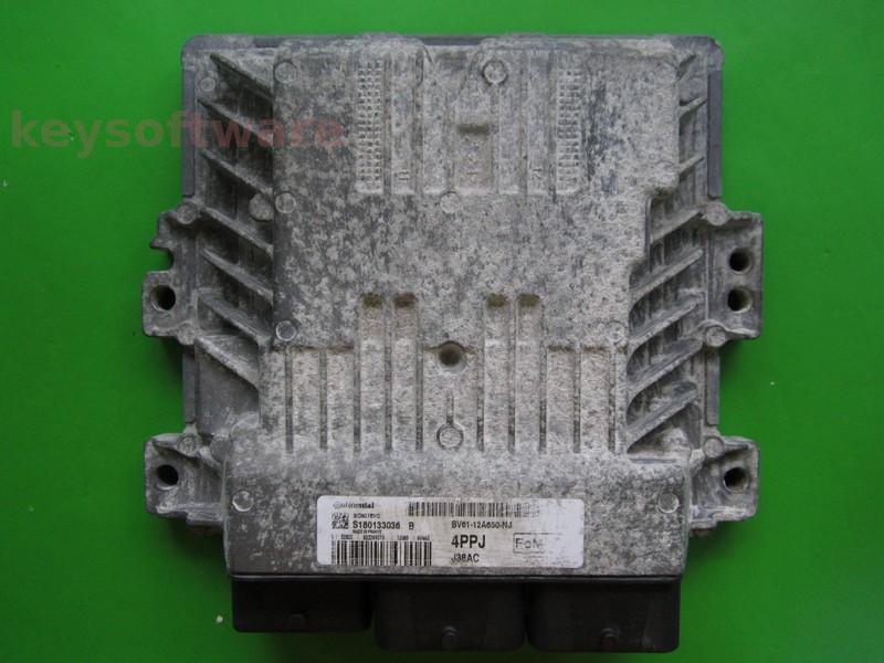 ECU Ford C-Max 1.6TDCI BV61-12A650-NJ SID807 EVO