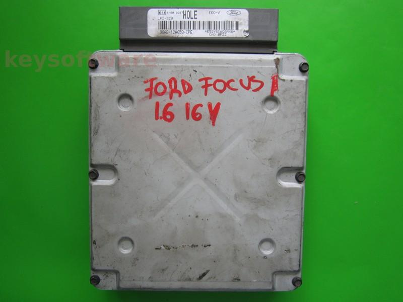 ECU Ford Focus 1.6 98AB-12A650-CPE LP2-320