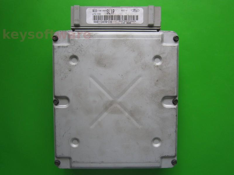 ECU Ford Focus 1.6 98AB-12A650-CXA LP4-332