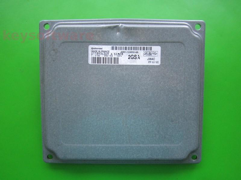 ECU Ford C-Max 1.6 AM51-12A650-AA SIM28 { +