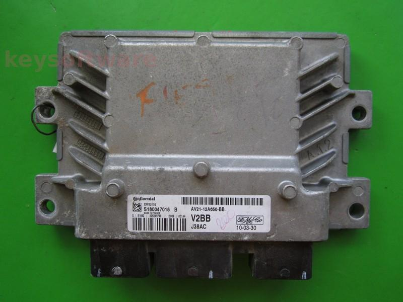 ECU Ford Fiesta 1.25 AV21-12A650-BB EMS2102