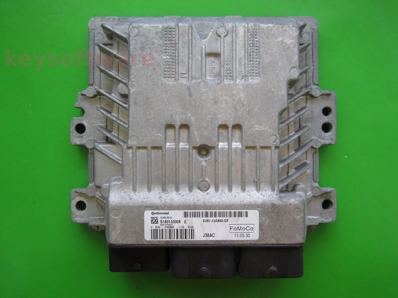 ECU Ford C-Max 1.6TDCI AV61-12A650-GF SID807EVO