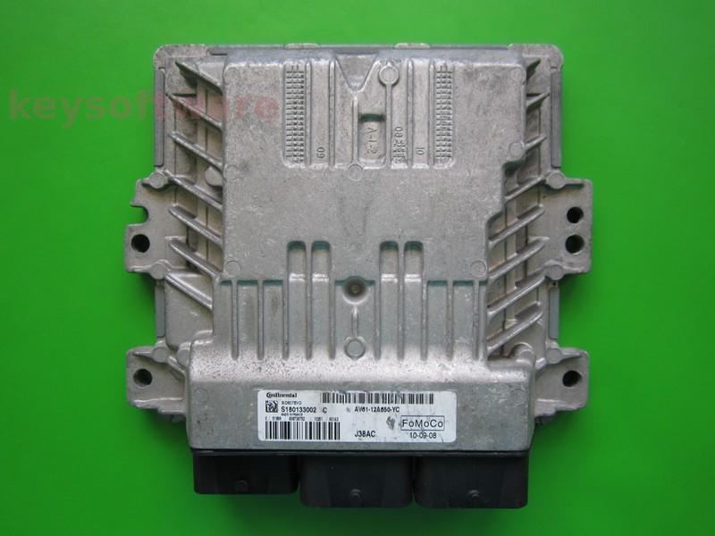 ECU Ford C-Max 1.6TDCI AV61-12A650-YC SID807 EVO