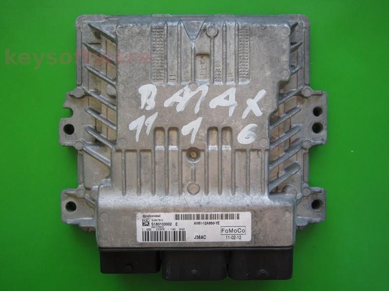 ECU Ford C-Max 1.6TDCI AV61-12A650-YE SID807EVO