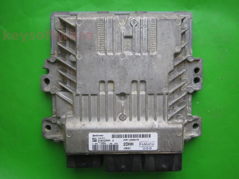 ECU Ford C-Max 1.6TDCI AV61-12A650-YH SID807 EVO