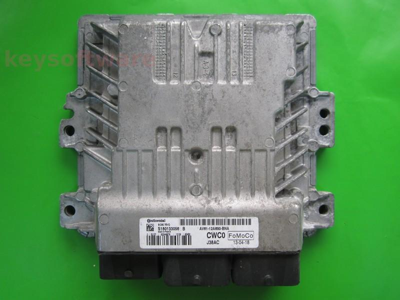 ECU Ford C-Max 1.6TDCI AV61-12A650-BNA EMS2211