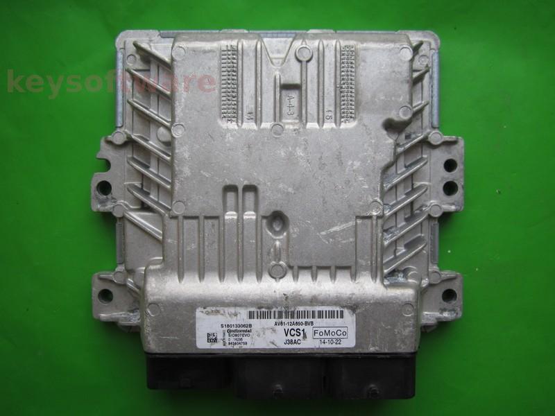 ECU Ford C-Max 1.6TDCI AV61-12A650-BVB SID807 EVO