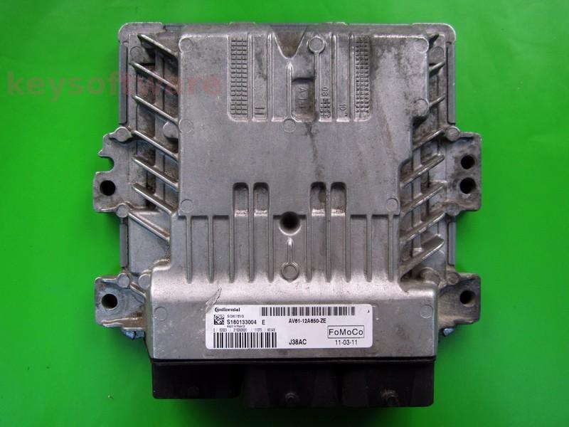 ECU Ford C-Max 1.6TDCI AV61-12A650-ZE SID807 EVO