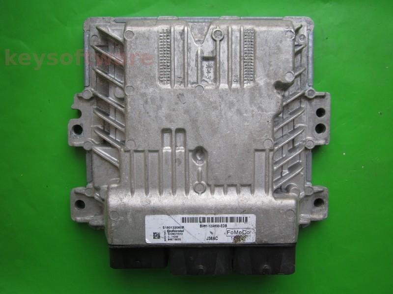 ECU Ford C-Max 1.6TDCI BV61-12A650-EDB SID807 EVO