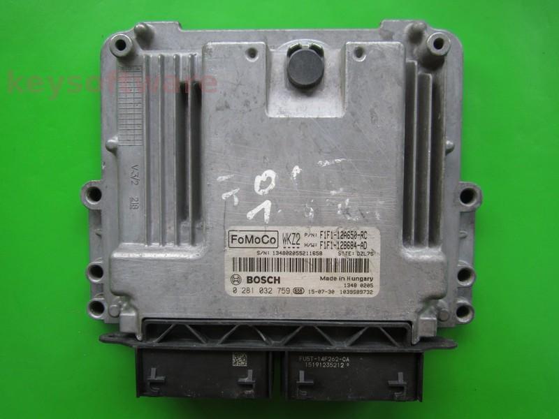 ECU Ford Focus 1.5TDCI F1F1-12A650-RC EDC17C70