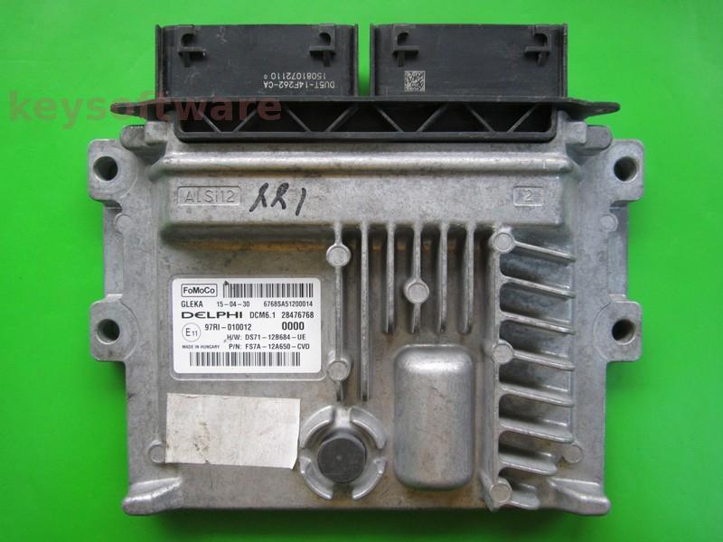 ECU Ford Mondeo 2.0TDCI FS7A-12A650-CVD DCM6.1